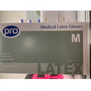 Latex powder in various sizes