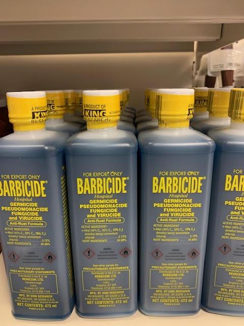 Barbicide 16floz/473ml solution